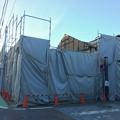 写真: 解体してた犬山城下町入り口付近の古い建物