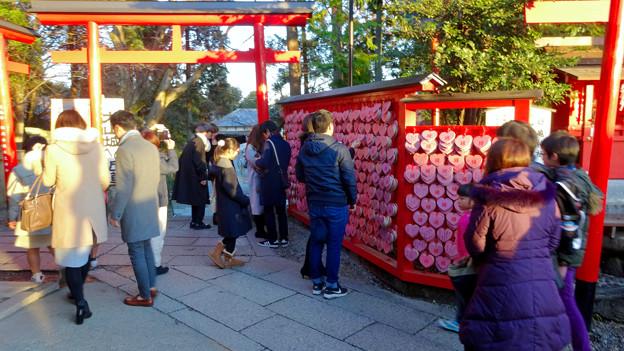 大勢の人で賑わってた、1月の週末の犬山城下町 - 16(三光稲荷神社)