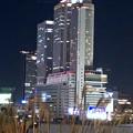 グローバルゲート最上階から撮影した夜の名駅ビル群(iPhone 8で撮影) - 3