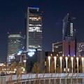 グローバルゲート最上階から撮影した夜の名駅ビル群(iPhone 8で撮影) - 4