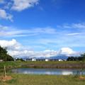 夏に向かう雲