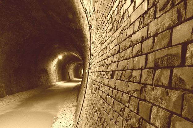 アプトの道 トンネル1