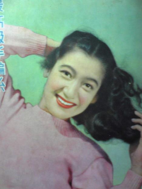 Photos: カラーの原節子さんアーイ。...