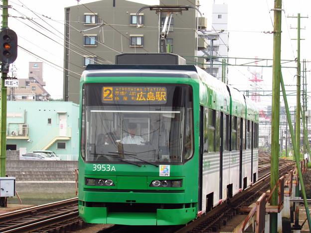 広電3953編成