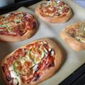 写真: ピザパンが焼けたよ