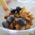 写真: アマニ油deフルーツとヨーグルトのサラダ