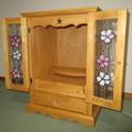 ミニ仏壇 ステンドクラス「さくらの花」