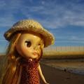 写真: 空と海の間・・