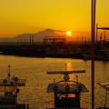 Photos: 初秋の夕日