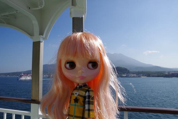 写真: 船上のブライス