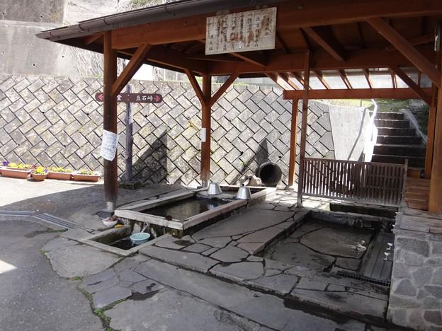 写真: 沓掛温泉 洗い場