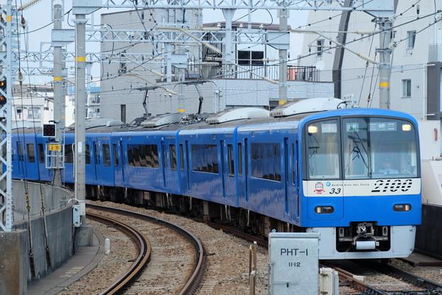 京急の青い電車