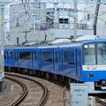 写真: 京急の青い電車