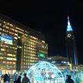 写真: 新宿駅新南改札前