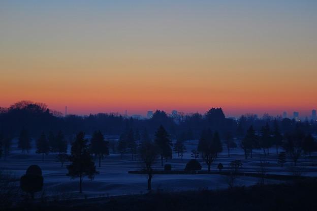 写真: 朝焼け
