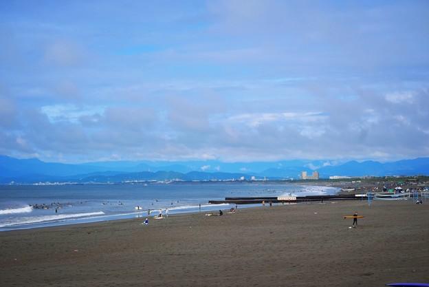 雨上がりの湘南・鵠沼海岸 #湘南 #藤沢 #海 #波 #wave #surfing #mysky #beach