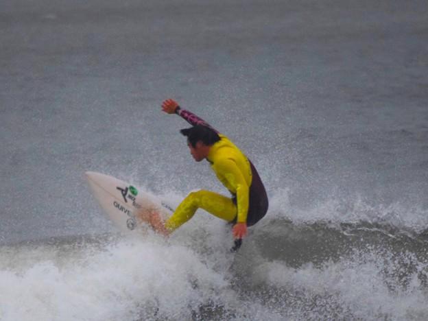 オフショアの湘南・鵠沼海岸 #湘南 #藤沢 #海 #波 #wave #surfing #台風 #hurricane