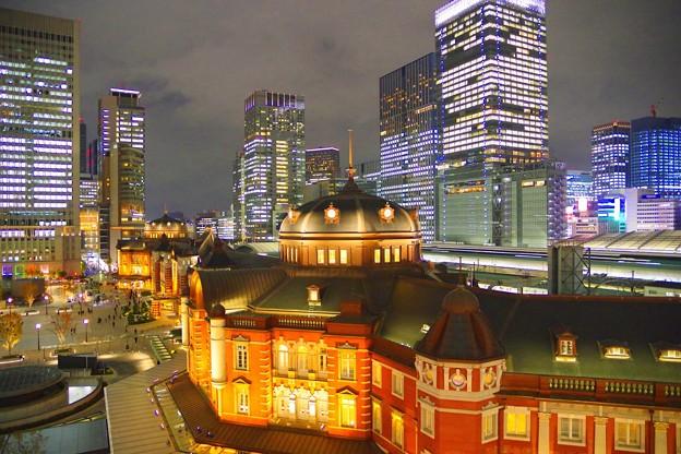 東京駅丸の内口 #tokyo #marunouchi #tokyostation #nightview #夜景 #東京 #丸の内 #東京駅