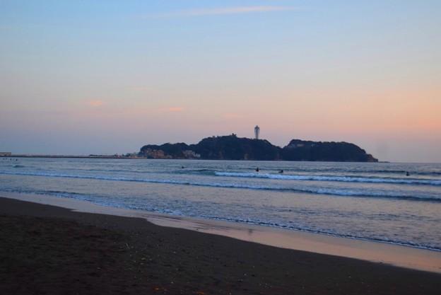 夕暮れの江ノ島 #湘南 #藤沢 #海 #波 #wave #surfing #mysky