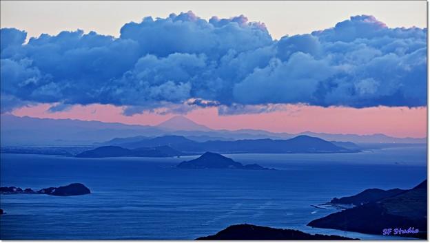 """写真: 遠望 """"富士山"""""""