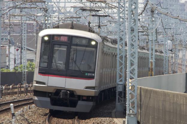 東急電鉄5000系 5114F [東武鉄道 谷塚駅]