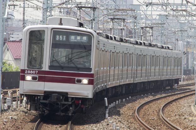 東武鉄道20000系 21807F [東武鉄道 谷塚駅]
