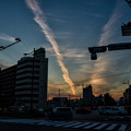 写真: Gojo-dori Street At Dusk - Kyoto City