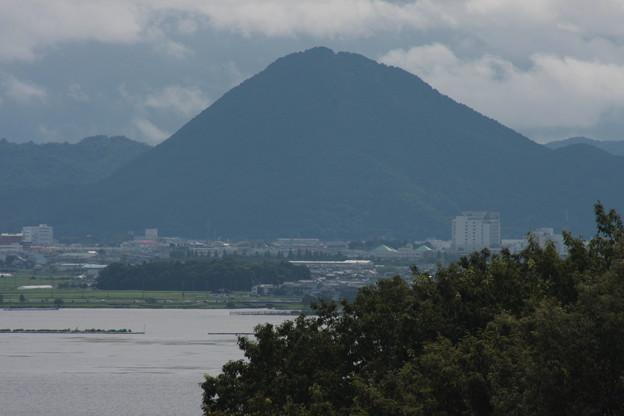 琵琶湖の対岸より