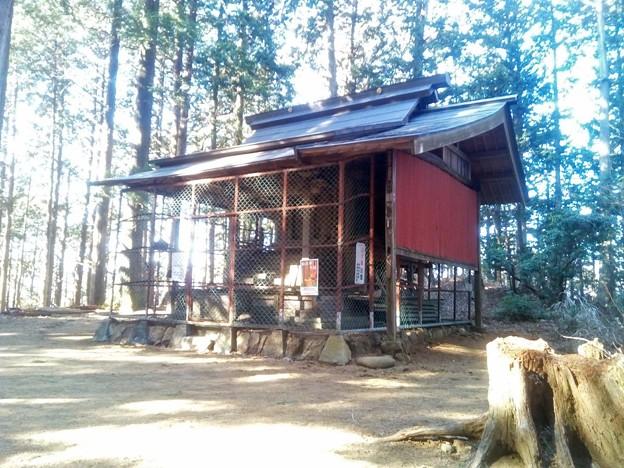惣岳山の神社