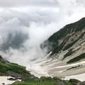 写真: 大雪渓