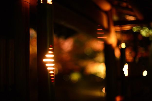 入り口の灯り