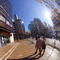 写真: 街頭ミラー