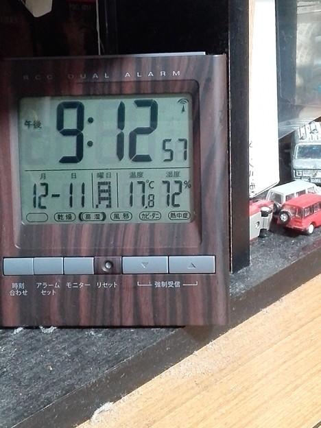 写真: 湿度がめちゃくちゃ高いね