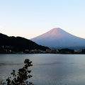 写真: 富士山雨雲彩