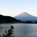 Photos: 富士山雨雲彩