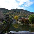 写真: 嵐山溪水