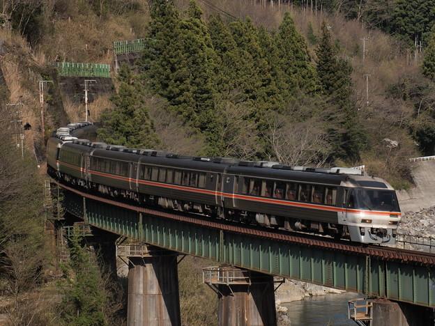 キハ85系ワイドビューひだ 高山本線下呂~焼石15