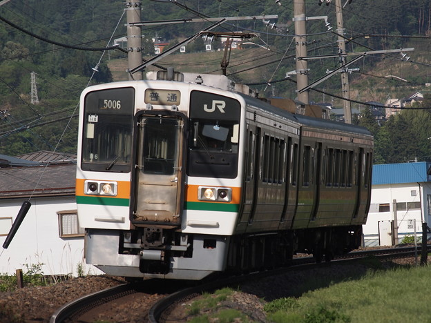 213系普通 中央本線下諏訪~岡谷02