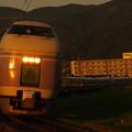 写真: E351系特急スーパーあずさ 中央本線下諏訪~岡谷06