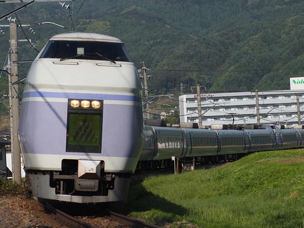 写真: E351系特急スーパーあずさ 中央本線下諏訪~岡谷02
