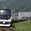 写真: E257系特急あずさ 中央本線下諏訪~岡谷02