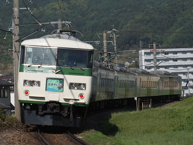 185系特急はまかいじ 中央本線下諏訪~岡谷02