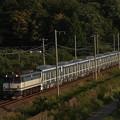 写真: EF65メトロ13000系甲種 東海道本線彦根~米原03