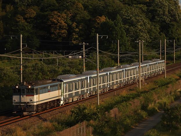 写真: EF65メトロ13000系甲種 東海道本線彦根~米原05