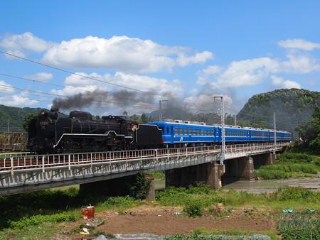 D51試運転 北陸本線河毛~高月03