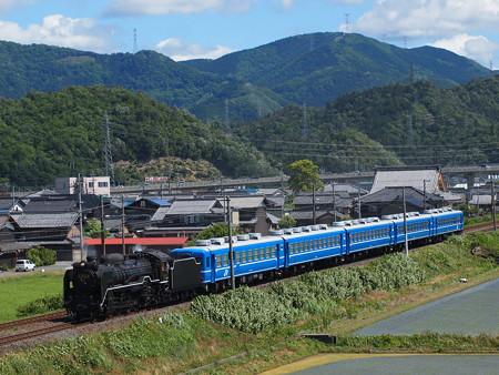 D51試運転 北陸本線米原~坂田01