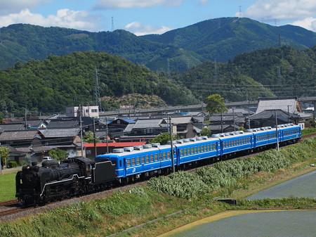 D51試運転 北陸本線米原~坂田03