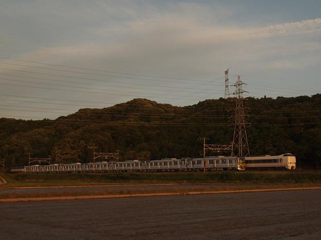 EF65メトロ13000系甲種 東海道本線近江長岡~柏原07