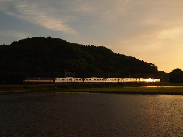 写真: EF65メトロ13000系甲種 東海道本線近江長岡~柏原02
