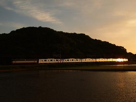 EF65メトロ13000系甲種 東海道本線近江長岡~柏原03